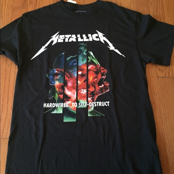 Other - Metallica men's shirt black New w tags